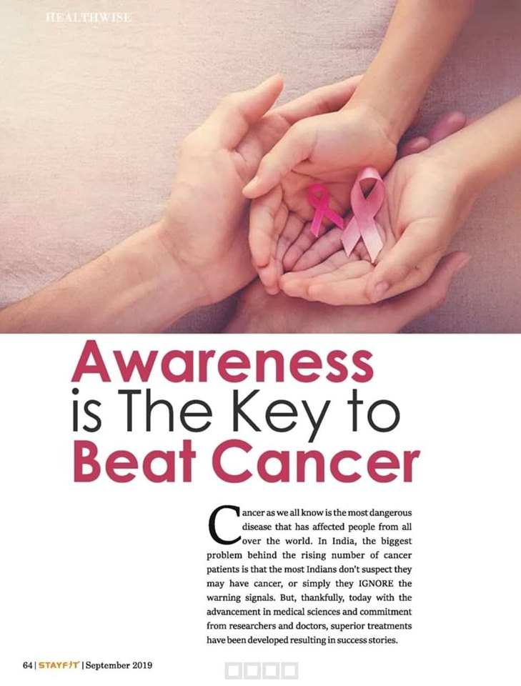 Awareness is the key to Beat Cancer